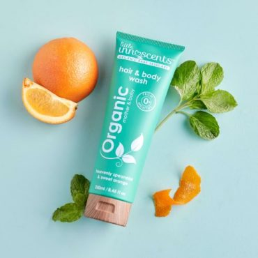 Organic Spearmint & Sweet Orange Hair & Body Wash 250ml