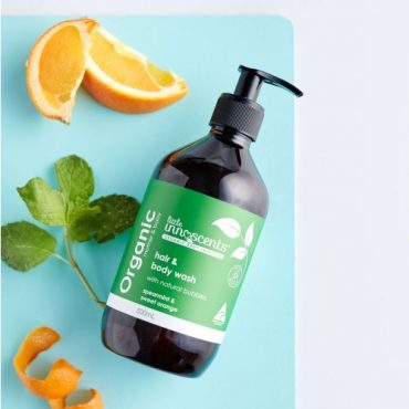 Organic Spearmint & Sweet Orange Hair & Body Wash 500ml