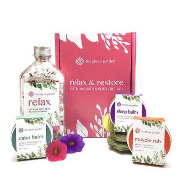 The Physic Garden Relax & Restore Gift Set