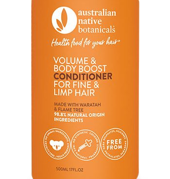 Australian Native Botanicals Volume & Body Boost Conditioner for Fine & Limp Hair
