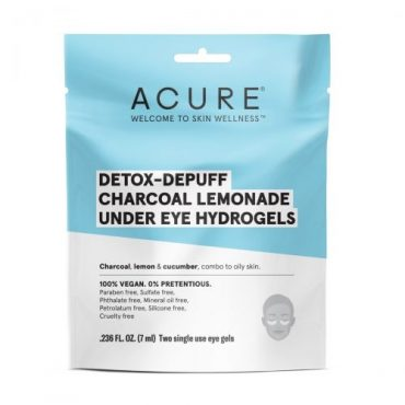 Acure Detox-Depuff Under Eye Hydrogels