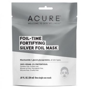Acure Fortifying Silver Foil Mask