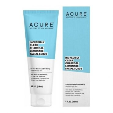 Acure Incredibly Clear Charcoal Lemonade Facial Scrub - 118ml
