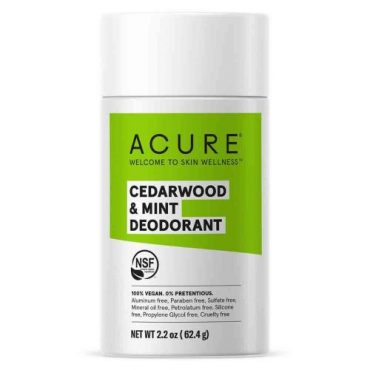 Acure Natural Deodorant - Cedarwood & Mint