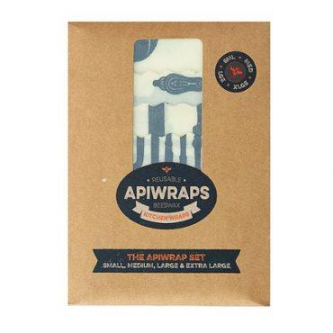 Apiwraps Reusable Beeswax Kitchen Wrap
