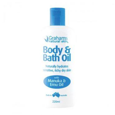 Grahams Natural Body & Bath Oil