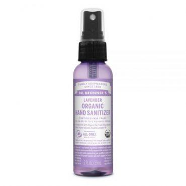 Dr. Bronner's Organic Hand Sanitizer - Lavender