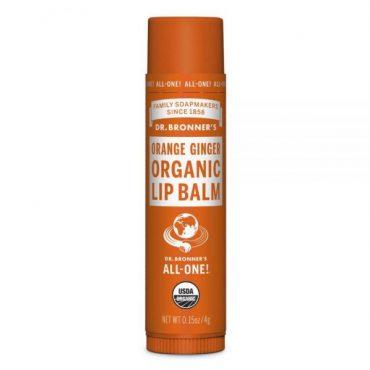 Dr. Bronner's Organic Lip Balm - Orange Ginger