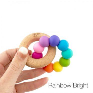 Nature Bubz Rainbow Teether Rainbow