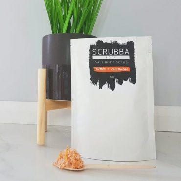 Scrubba Citrus & Calendula Salt Body Scrub