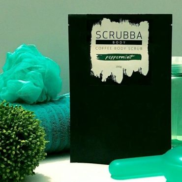 Scrubba Peppermint & Arabica Coffee Body Scrub