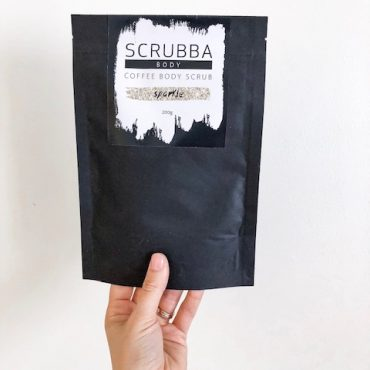 Scrubba Sparkle Arabica Coffee Body Scrub