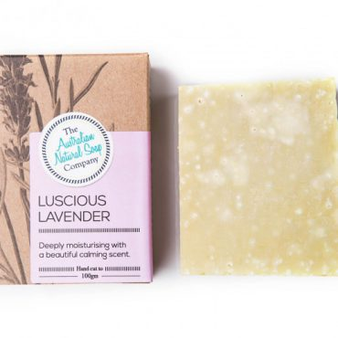 The ANSC Solid Soap Luscious Lavender