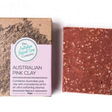 The ANSC Solid Soap Pink Clay Soap