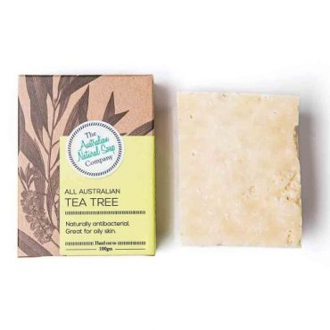 The ANSC Solid Soap Tea Tree
