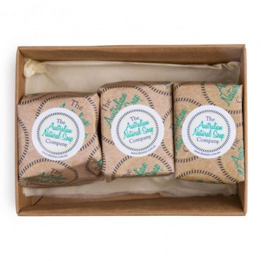 The ANSC Trip Around Australia Gift Pack of 3 Soaps