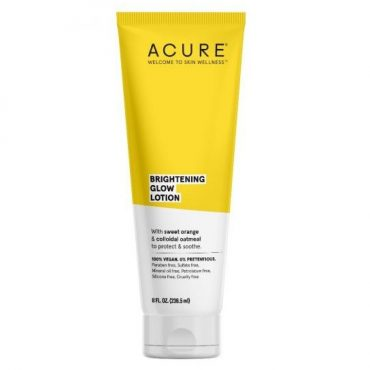 Acure Brightening Glow Body Lotion