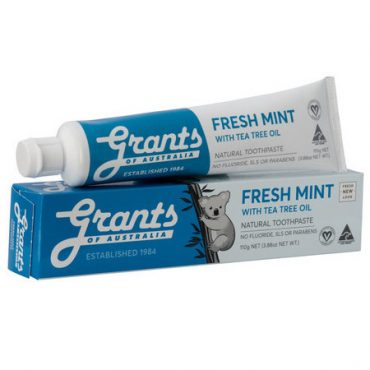 Grants Fresh Mint with Tea Tree Oil Toothpaste