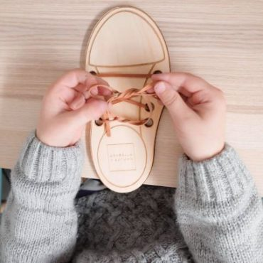 Arabella + Autumn Lacing Shoe