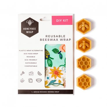 Honeybee Beeswax Wraps DIY Kit