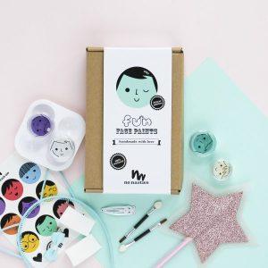 No Nasties Makeup Niki Deluxe Fun Face Paint Box