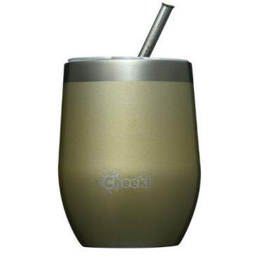 Cheeki Insulated Wine Tumbler 320ml - Spirit White