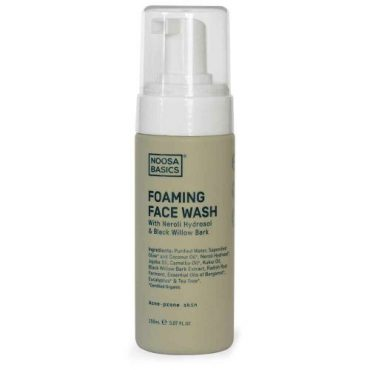 Noosa Basics Foaming Face Wash With Neroli & Black Willow Bark