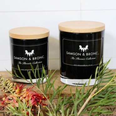 Samson & Bronc Candles