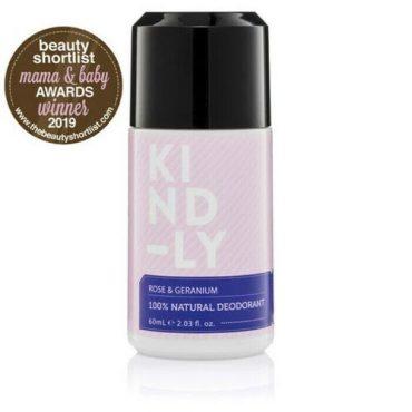 Kind-ly Rose & Geranium Natural Deodorant