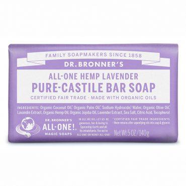 Dr. Bronner's Pure-Castile Bar Soap - Lavender