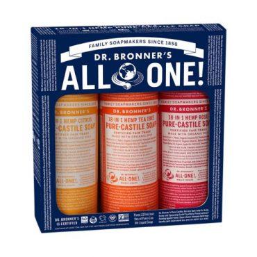 Dr. Bronner's Pure-Castile Soap Liquid Summer Lovin' 3 x Pack
